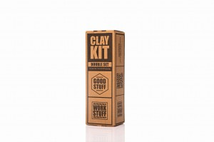 Clay Kit -  Clay Lube 250 ml+ Clay Bar 50 g - zestaw do glinkowania